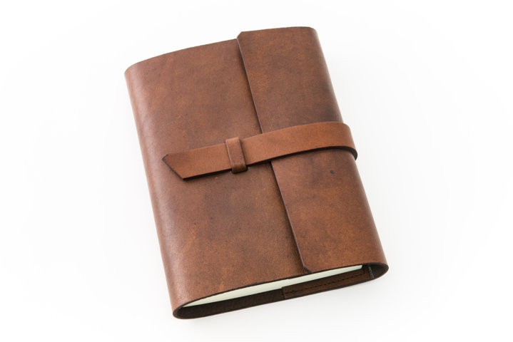 Diario e agenda in pelle artigianale