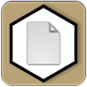 icon of products with ivory acid-free hand-laid paper