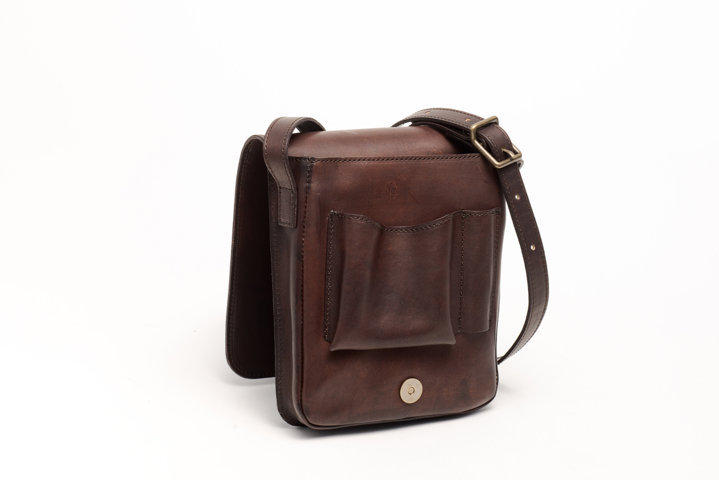 Handmade leather bag Jacopo