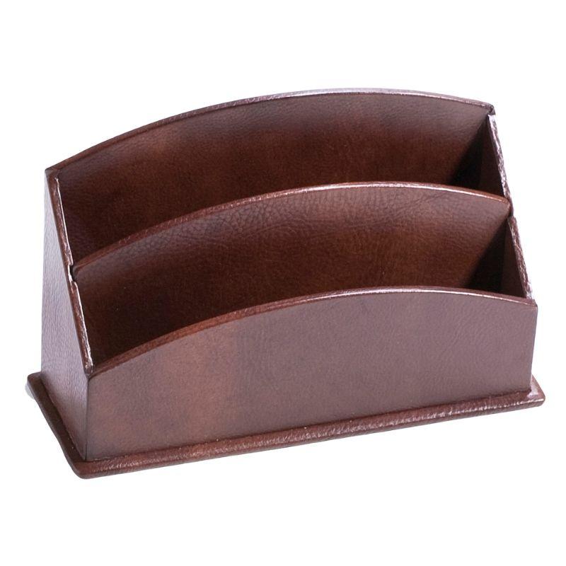 Leather letter holder