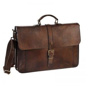 ikubag leather briefcase