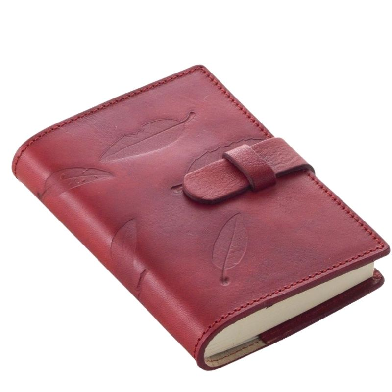 diary in genuine leather