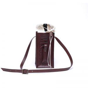 squared Letaher bottle holder